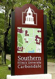 siu sign on campus